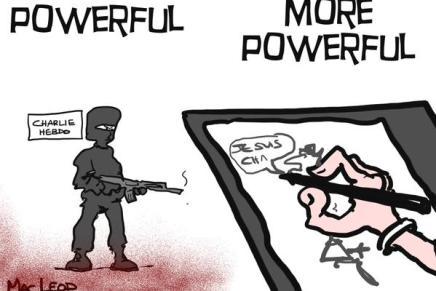 8 Powerful Cartoons Responding to Paris' Charlie Hebdo Attack :: أبرز 8 رسومات لفناني كاريكاتير للرد على هجومباريس