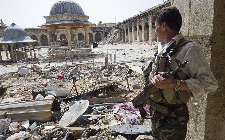 Aleppo-Mosque