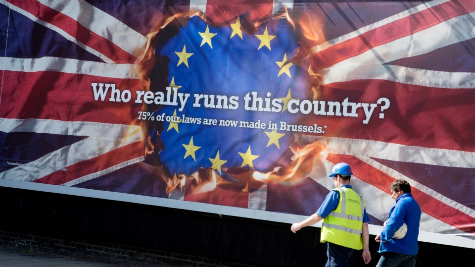 UKIP Election Posters For European Elections Cause Controversy