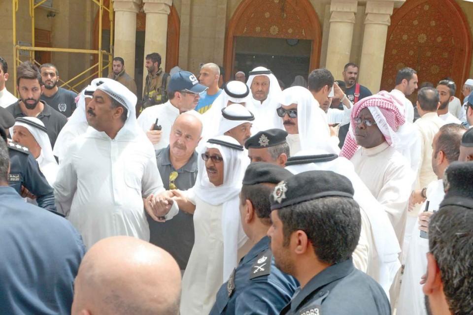 amir kuwait explosion blast