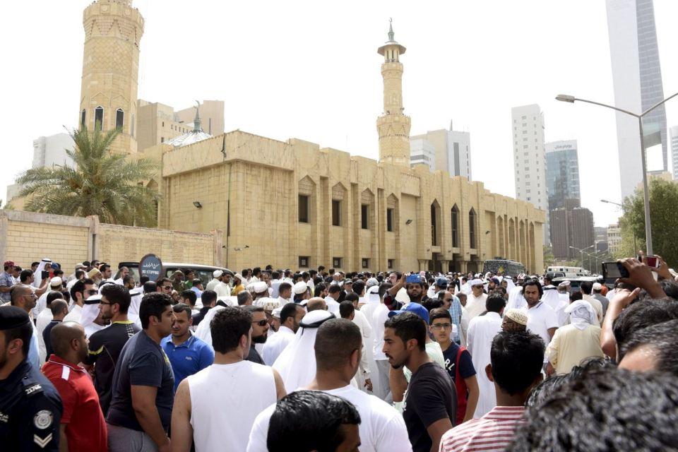 kuwait exolosion blast
