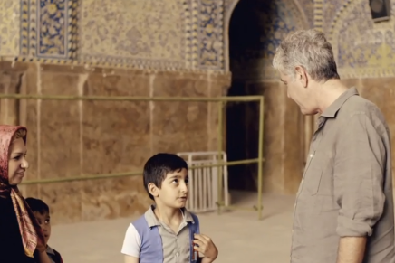 Shifting Grounds: Anthony Bourdain's Episode from Iran