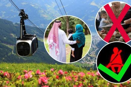 النمسا للسياح العرب: لا تأكلوا على الأرض واخلعوا النقاب لنرىابتسامتكم