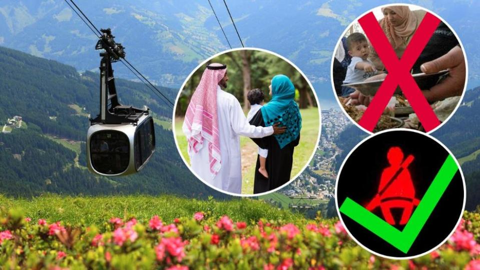 austria arab tourists