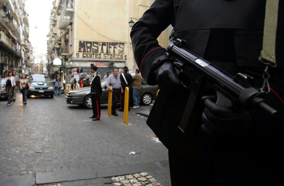 Italy violence napoli