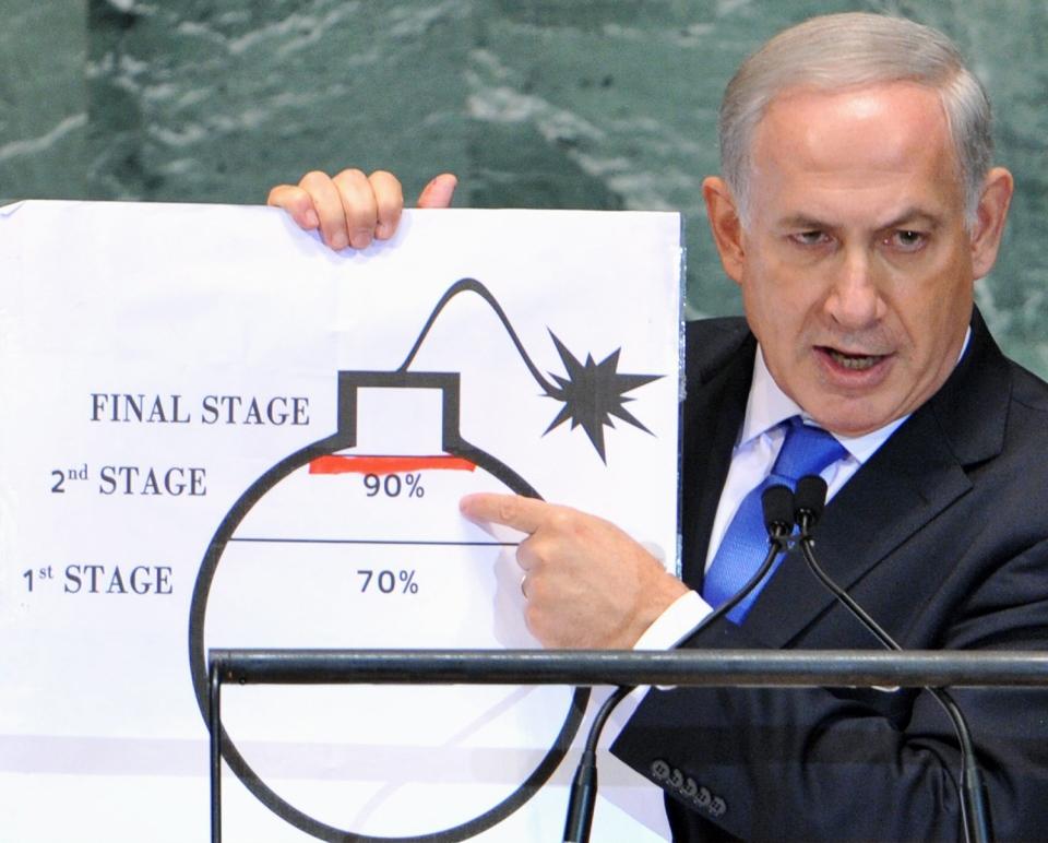 netanyahu israel un