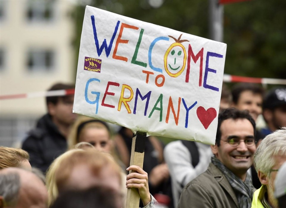 welcome to germany refugees
