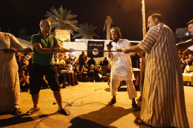 ISIS tug of war contest