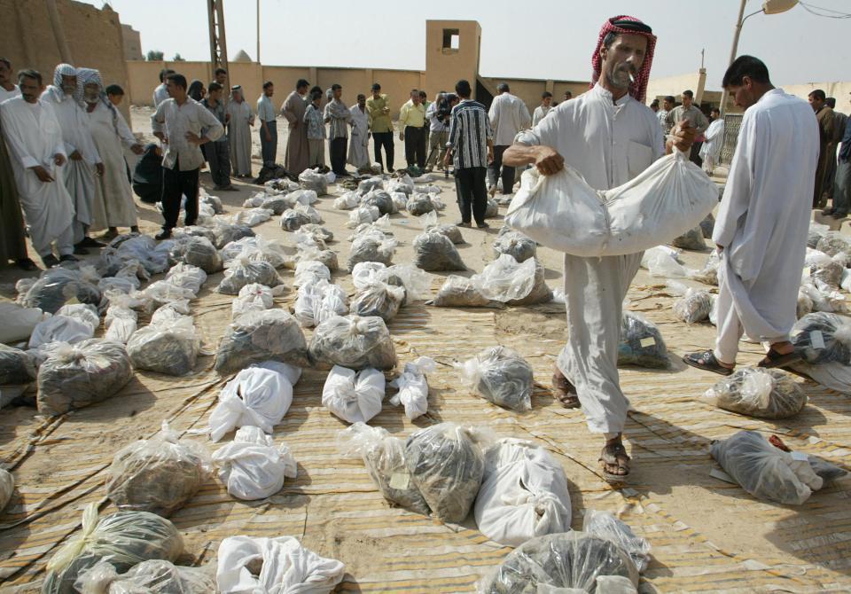 iraq graves