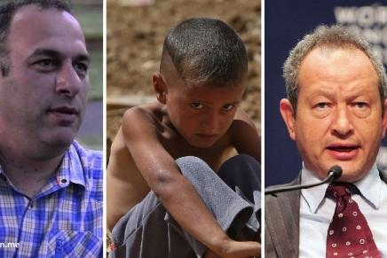 من جيسون بوزي إلى نجيب ساويرس: هل يساهم أثرياء العالم في إيجاد وطنللاجئين؟