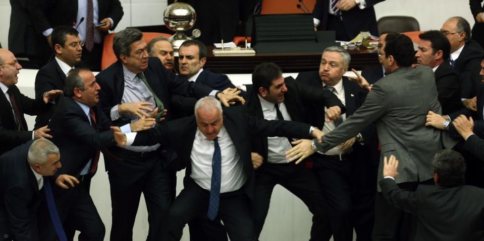 Parliament Fight