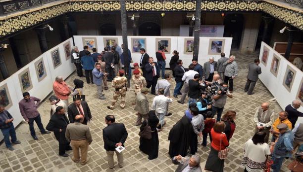 معرض فني كويتي في البصرة