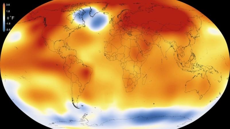وكالات العلوم الأمريكية: عام 2015 هو الأكثر حرارة في التاريخ