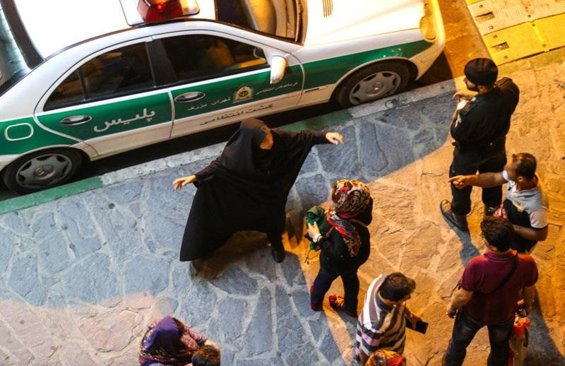 iran morality police