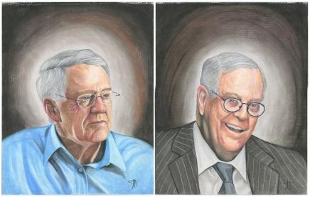 المقاومة الفنية: سجناء يرسمون رؤساء الشركات الكبرى المتحايلة علىالقانون