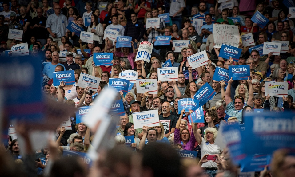 Bernie Sanders Campaign Rally madison