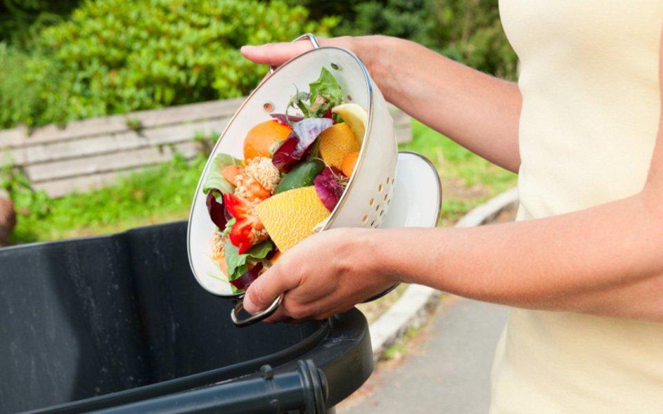 food waste veg