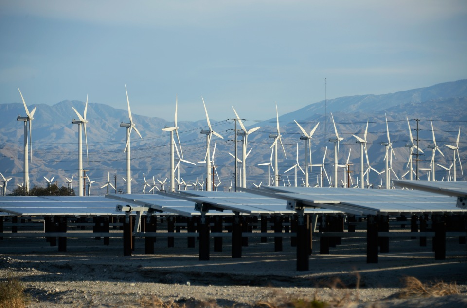 green energy wind solar