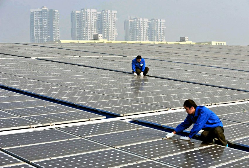 Beijing has promoted the development of the solar power industry more than any other country on Earth.