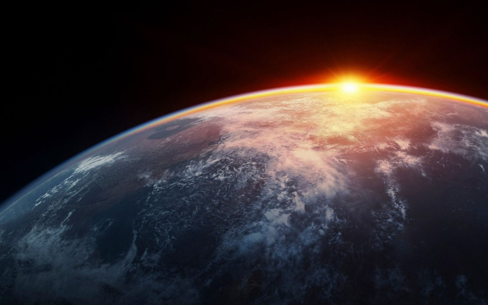 earth future sunrise