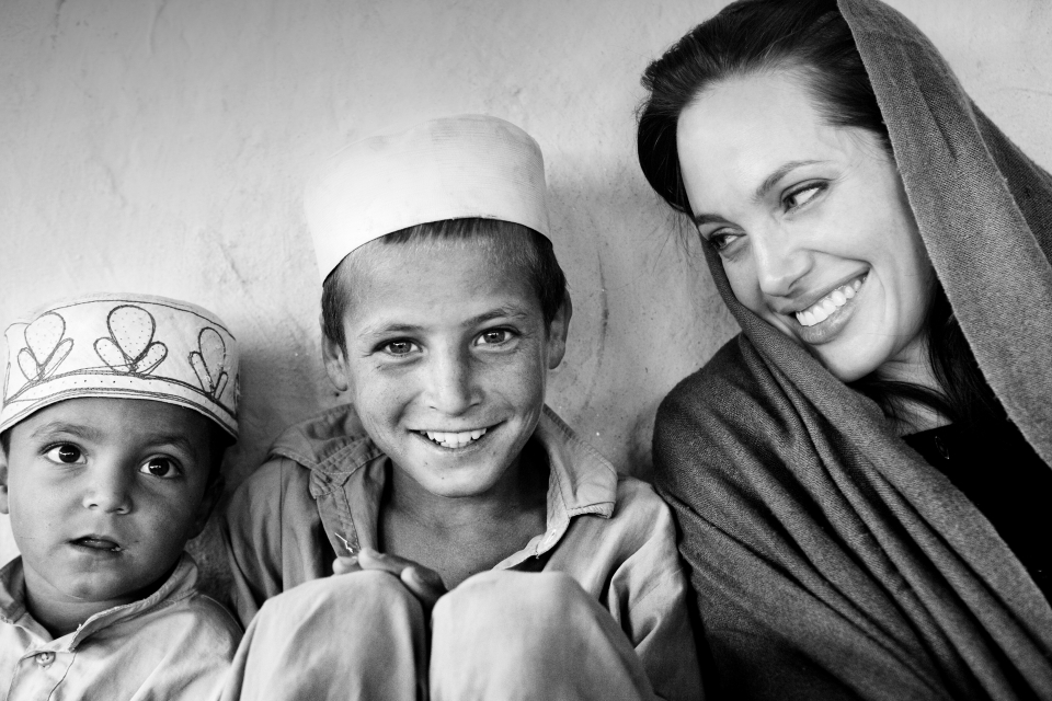 UNHCR Good Willing Ambassador Angelina Jolie visits Afghanistan