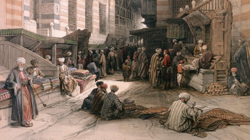 silk-road-merchants trade