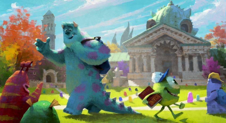 monsters cartoon pixar