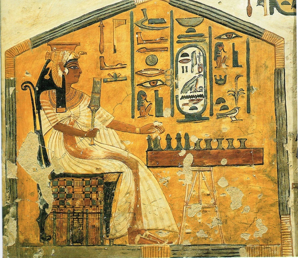 fresco-of-nefertari
