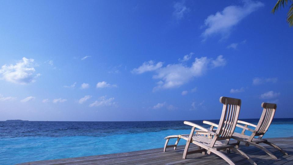 Resting Besides Beach